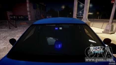 Ford Crown Victoria Detective v4.7 [ELS] for GTA 4 upper view