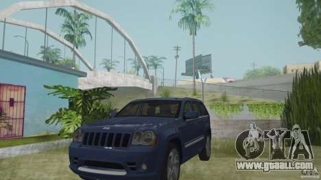 Jeep Grand Cherokee SRT8 2009 for GTA San Andreas