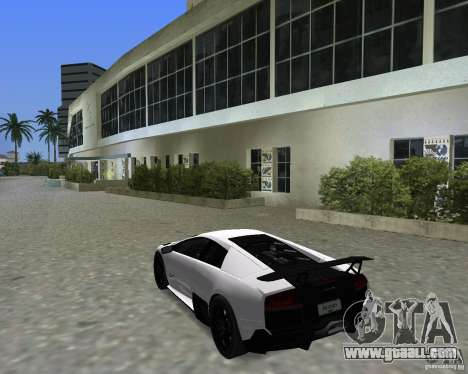 Lamborghini Murcielago LP670-4 SV for GTA Vice City right view