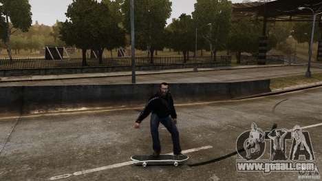 Skateboard # 4 for GTA 4 back view