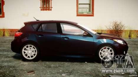 Mazda Speed 3 for GTA 4 inner view