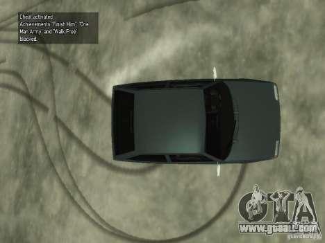 ZAZ 1102 Tavria for GTA 4 back view