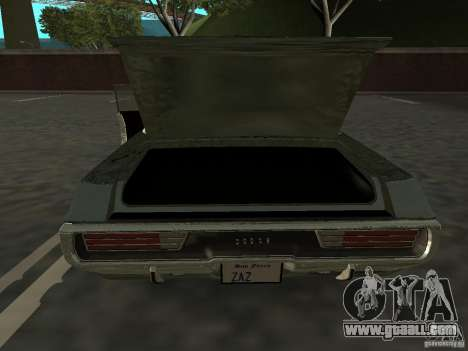 Dodge Polara Police 1971 for GTA San Andreas right view
