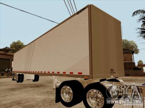 Trailer, Peterbilt 379 Custom for GTA San Andreas