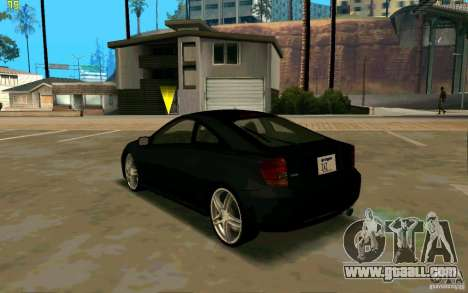 Toyota Celica 2005 for GTA San Andreas back left view