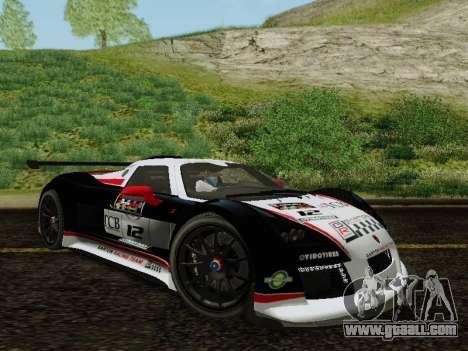 Gumpert Apollo S 2012 for GTA San Andreas side view