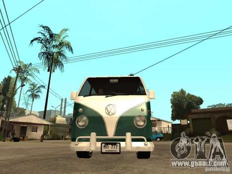 VW T1 Samba for GTA San Andreas