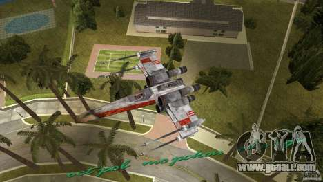 X-Wing Skimmer for GTA Vice City side view