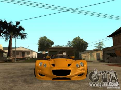Gillet Vertigo for GTA San Andreas right view