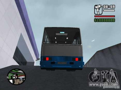 Ikarus 260 safety for GTA San Andreas inner view