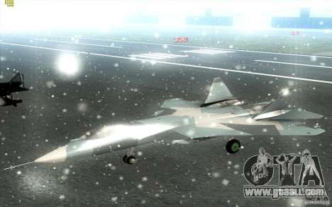 SU t-50 Pak FA for GTA San Andreas