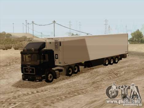MAN F2000 6x4 for GTA San Andreas back left view
