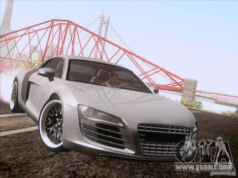Audi R8 Hamann for GTA San Andreas back left view