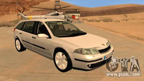 Renault Laguna II for GTA San Andreas inner view