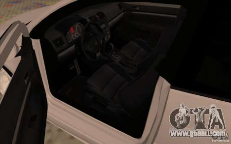Volkswagen Golf Mk5 for GTA San Andreas back view