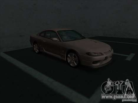 Nissan Silvia S15 Tunable KIT C1 - TOP SECRET for GTA San Andreas left view