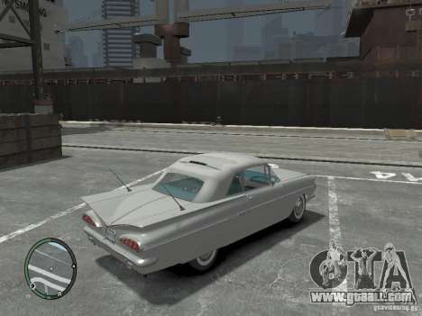 Chevrolet Impala 1959 Soupe for GTA 4 right view