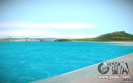 HD water for GTA San Andreas third screenshot
