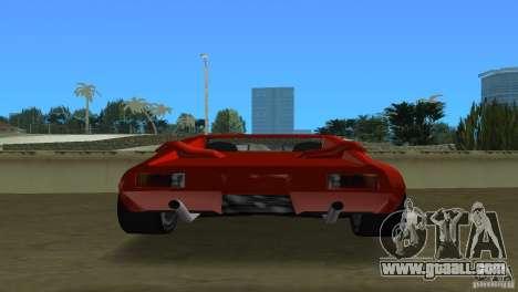 De Tomaso Pantera for GTA Vice City right view