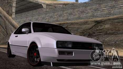 Volkswagen Corrado VR6 for GTA San Andreas back left view