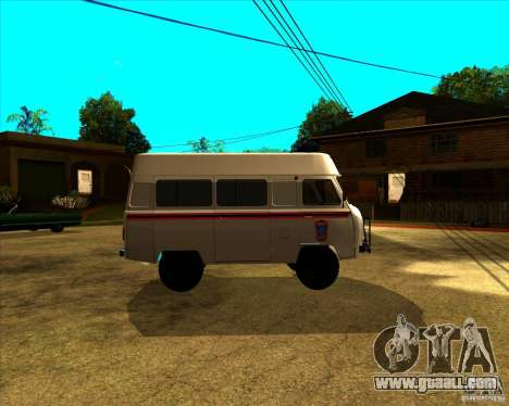 UAZ 3962 MOE for GTA San Andreas left view