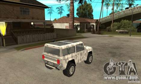 Ford Bronco Concept for GTA San Andreas right view