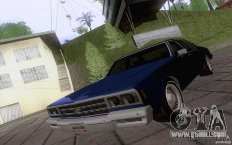 Chevrolet Caprice Clasico for GTA San Andreas left view