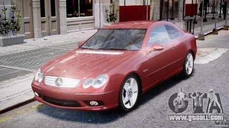 Mercedes-Benz CLK 63 AMG 2005 for GTA 4 left view