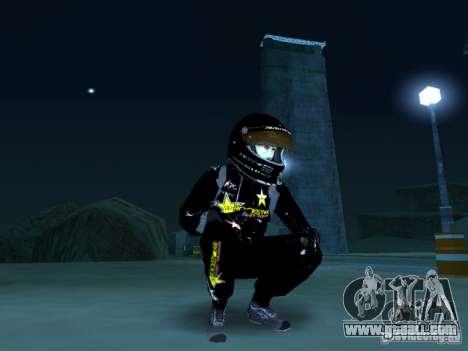 Rockstar PED for GTA San Andreas second screenshot