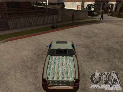 LADA 2170 Pickup for GTA San Andreas right view