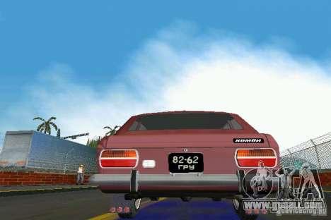 Izh-2125 Kombi for GTA Vice City back view