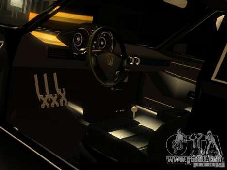 Volkswagen Passat 1.9A for GTA San Andreas upper view