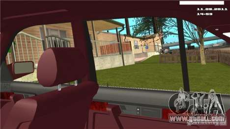 First person camera in the car for GTA San Andreas third screenshot