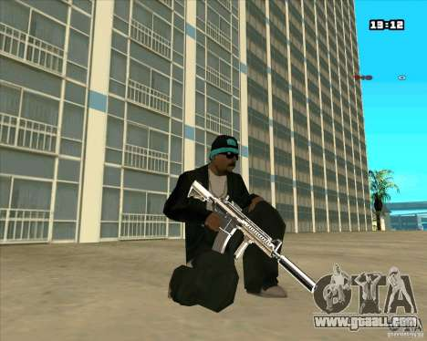 Chrome Weapon Pack for GTA San Andreas fifth screenshot