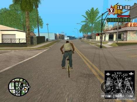 New speedometer for GTA San Andreas third screenshot