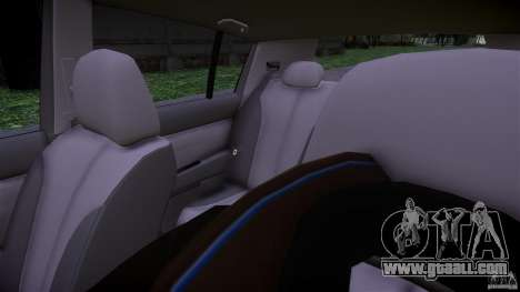Nissan Versa for GTA 4 inner view