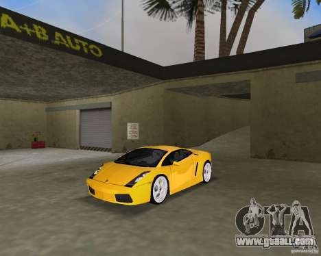Lamborghini Gallardo v.2 for GTA Vice City