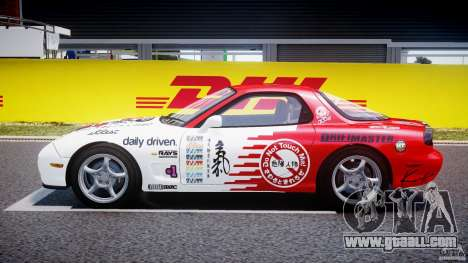 Mazda RX-7 1997 v1.0 [EPM] for GTA 4 inner view