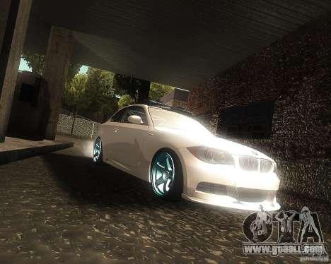 BMW 135i Hella Drift for GTA San Andreas