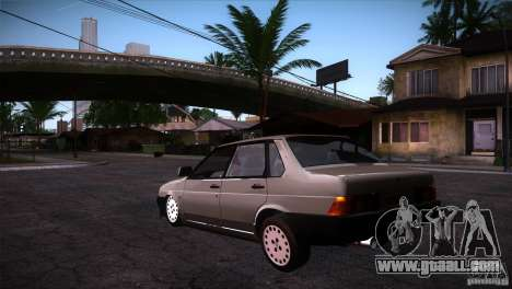 Fiat Regata for GTA San Andreas back left view
