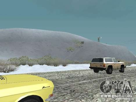 Frozen bone country for GTA San Andreas second screenshot