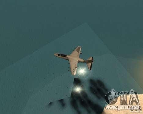 Cluster Bomber for GTA San Andreas forth screenshot