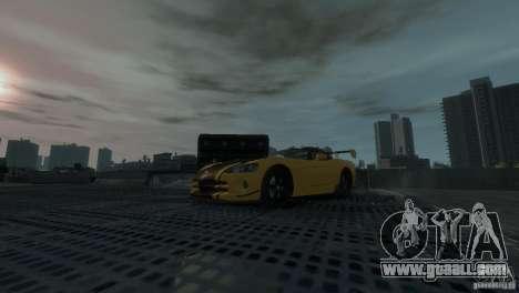 Dodge Viper SRT-10 ACR 2009 for GTA 4 back view