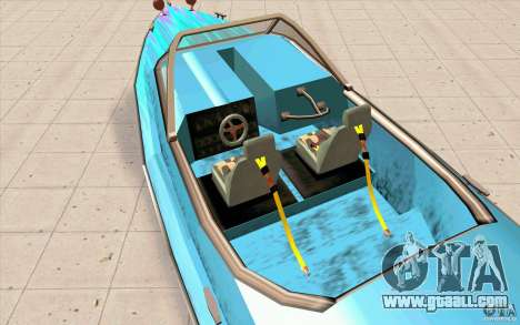 Hot-Boat-Rot for GTA San Andreas back view