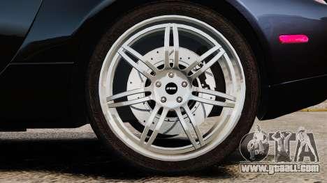 BMW Z8 2000 for GTA 4 back view