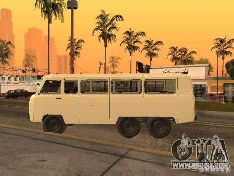UAZ 452K for GTA San Andreas back view