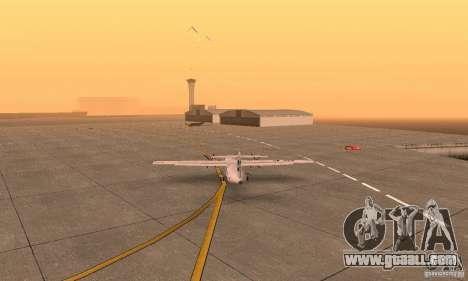 ATR 72-500 UTair for GTA San Andreas left view