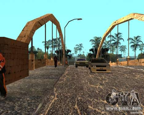 New Ghetto for GTA San Andreas forth screenshot