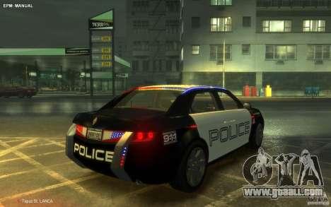 Carbon Motors E7 for GTA 4 left view
