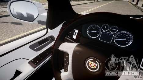 Cadillac Escalade ESV for GTA 4 inner view